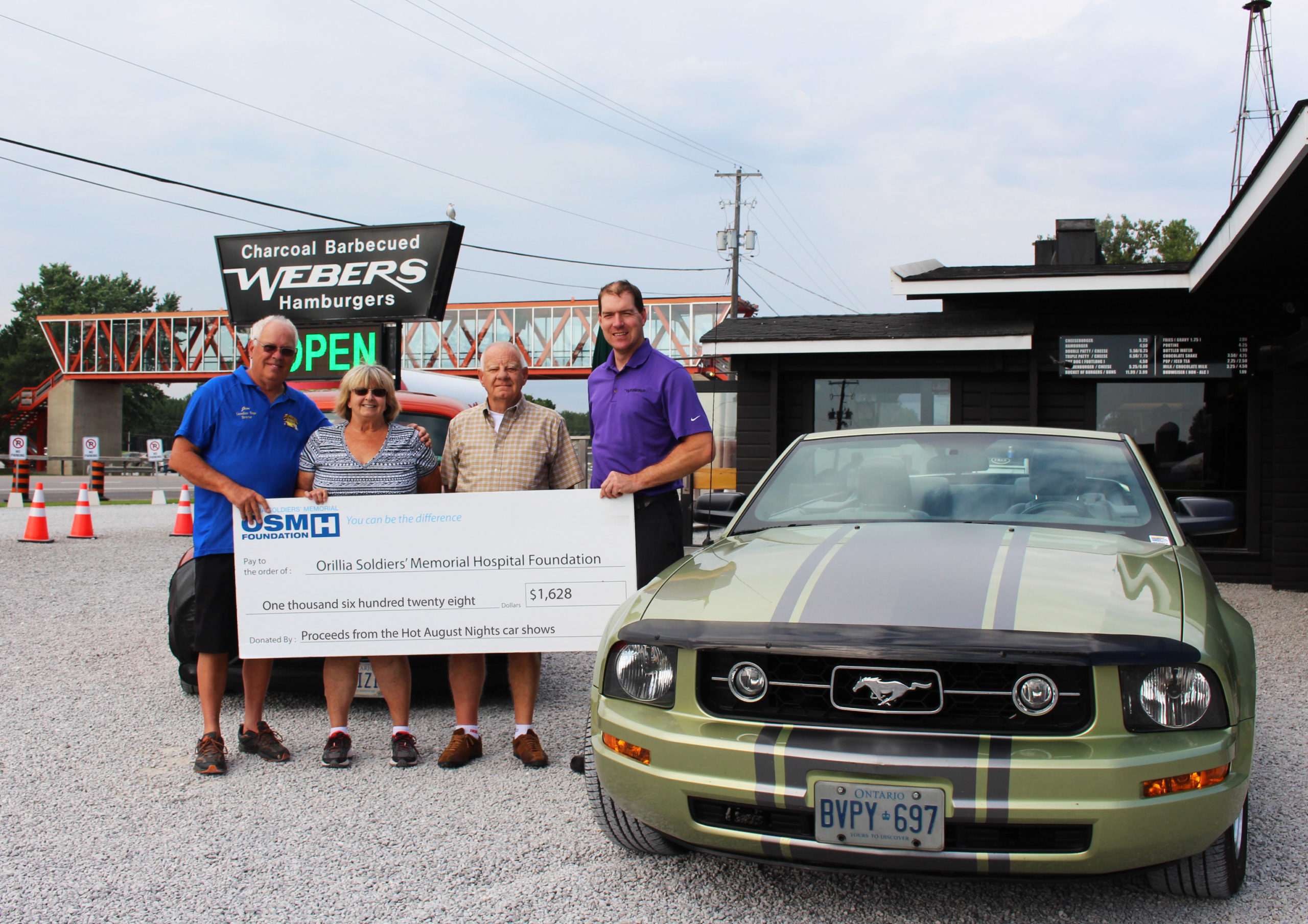 Car Show at Webers in Orillia