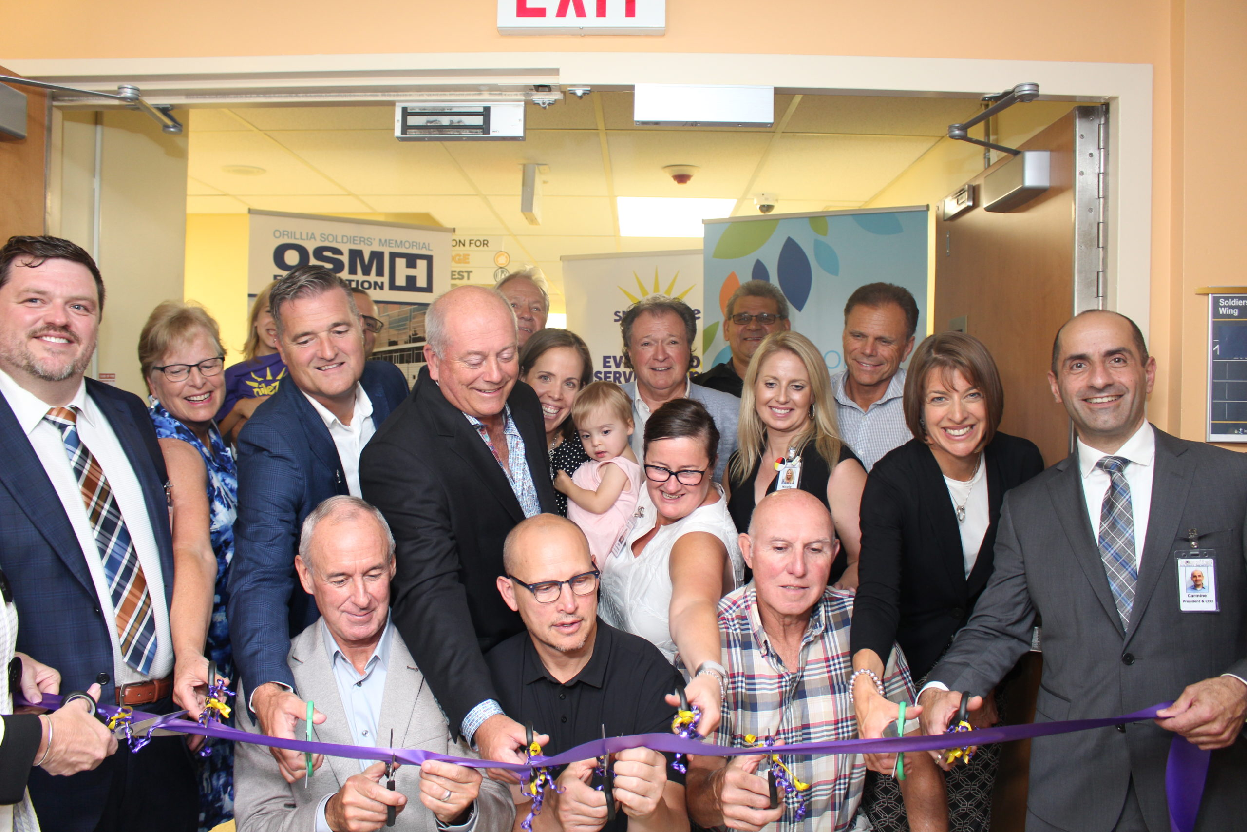 Ribbon Cutting Ceremony at Outpatient Unit